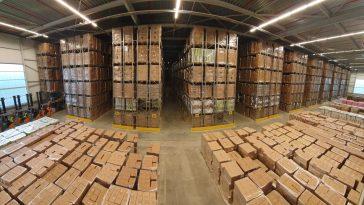 Foto heel mooi warehouse